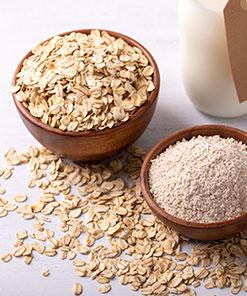 Cereales, legumbres secas y harinas